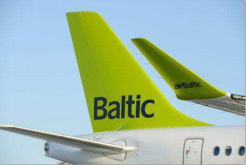 """""""airBaltic"""" žymi trejų metų veiklos Vilniuje sukaktį"""