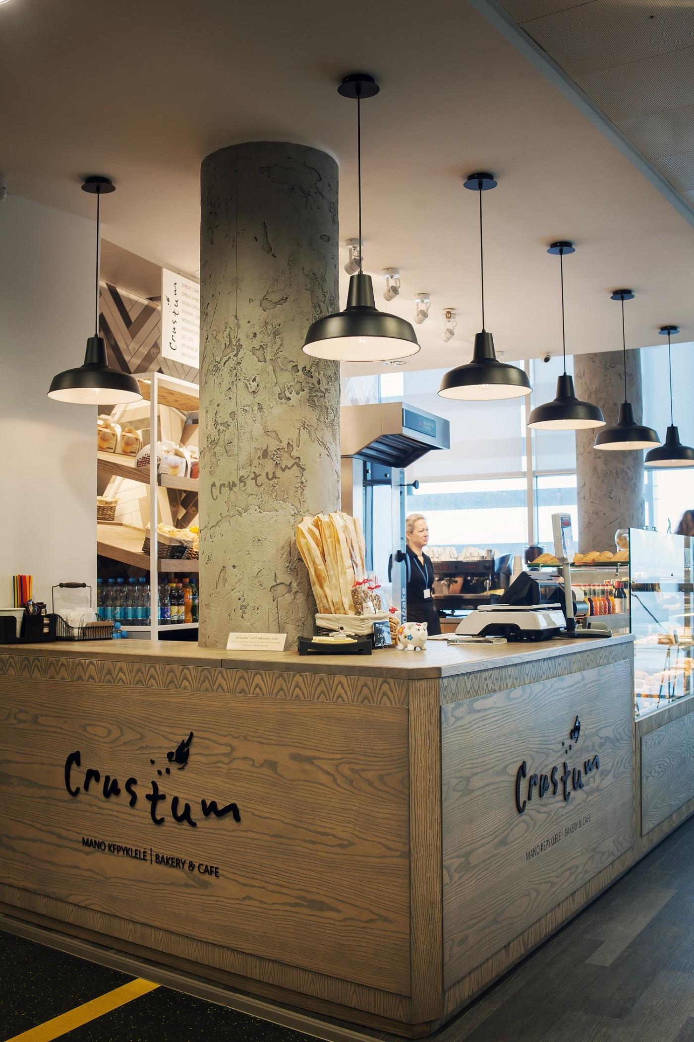 Vilniaus oro uoste atsiras nauja vieta pasilepinti kava su bandelėmis