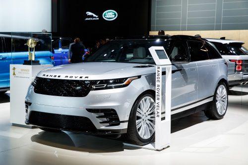"""""""Range Rover Velar"""" paskelbtas gražiausiu automobiliu pasaulyje"""