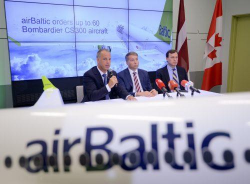 """Reikšmingas plėtros proveržis: """"airBaltic"""" įsigis 60 orlaivių"""