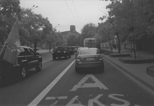 Modernus Vilnius: KET pažeidėjus fiksuoja troleibusai!