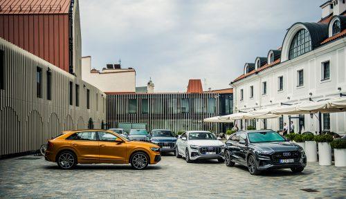 """Vilniuje pristatytas naujasis """"Audi Q8"""" – gaivus SUV vėjo gūsis kelionėms"""