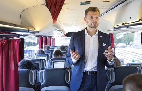 Naujausia statistika: autobusais keliaujančių verslininkų skaičius augo 66 procentais