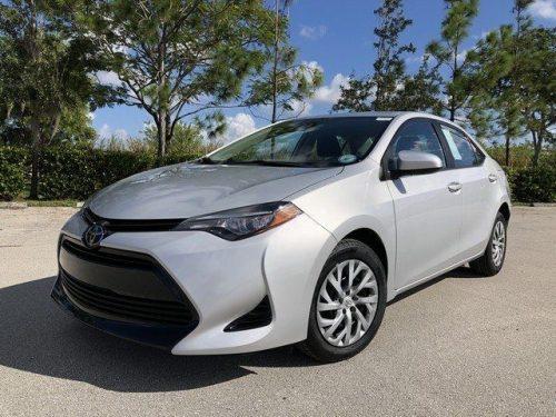 Toyota Corolla 2017 model