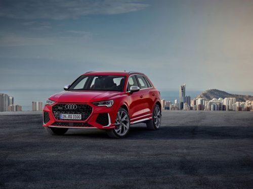 """Kompaktinių modelių galia: nauji """"Audi RS Q3"""" ir """"Audi RS Q3 Sportback"""""""