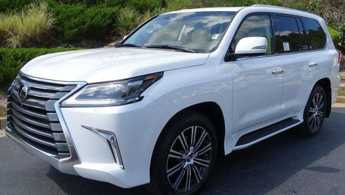 LX570 2019 Lexus – Under warranty