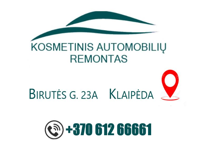 KOSMETINIS AUTOMOBILIŲ REMOTAS