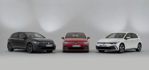 "Ženeva 2020: ""Volkswagen"" pristato sportiškuosius ""Golf"" GTI, GTE ir GTD"