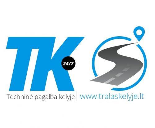 Traliukas tralas technine pagalba kelyje Kaunas