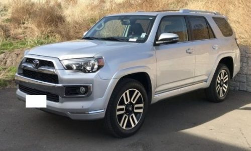 Toyota 4Runner Limited 4WD 2018 for sell