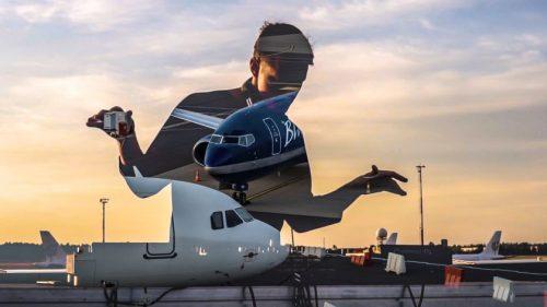 Vilniaus oro uoste muzikinis pasirodymas atgimstančiai aviacijai