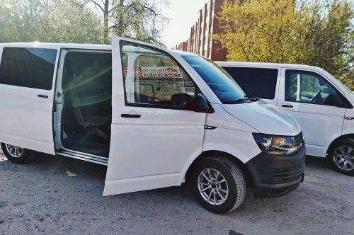 Mikroautobusų  nuoma Šiauliuose Donauto