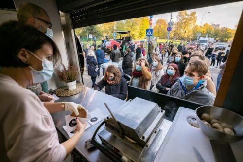 Giedraičių gatvės rekonstrukcija: pagrindinė Šnipiškių susisiekimo arterija nuo šiol saugesnė ir draugiškesnė judėti visiems