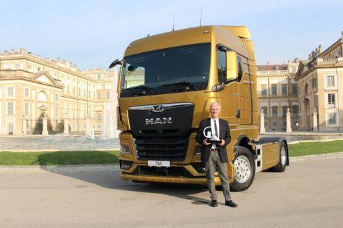 """Oficialiai geriausias: """"MAN TGX"""" paskelbtas 2021 metų sunkvežimiu!"""