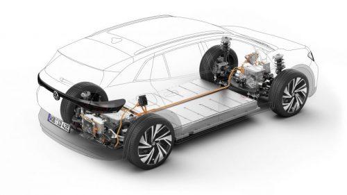 """""""Volkswagen"""" pristatė naują sportiškų elektromobilių ženklą, pirmasis modelis – """"ID.4 GTX"""""""