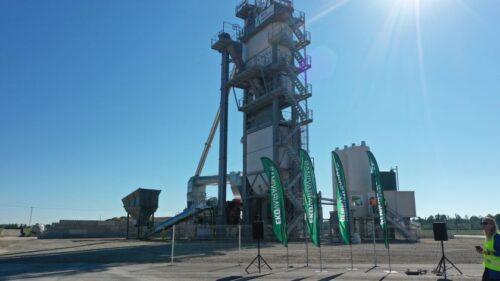 """AB """"Kelių priežiūra"""" į asfalto gamyklos atnaujinimą investavo 2,9 mln. Eur"""