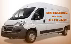 Krovininių mikroautobusų ir priekabų nuoma